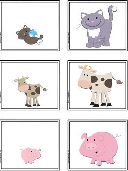 Baby Farm Animals:  LOW PREP Emergent Reader AND Interactive Activities