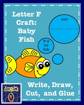 Letter F Craft: Baby Fish