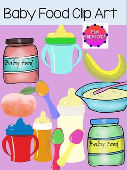 Baby Food Clip Art