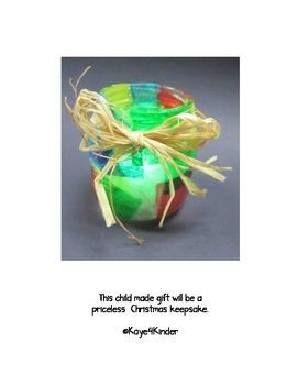 Baby Food Jar Candle Christmas Gift
