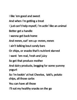 Baby Got Snacks 2 verses