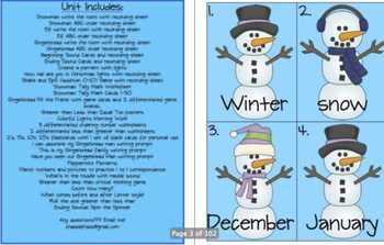 Baby It's Cold Outside! Winter Literacy and Math Unit!
