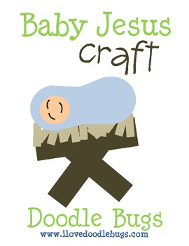 Baby Jesus Craft / Art Project { free download }