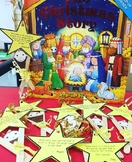 Baby Jesus Manger craft and scribe activity