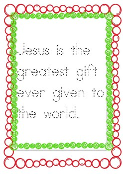 Baby Jesus was the greatest gift of all!: Luke 2: 15-21