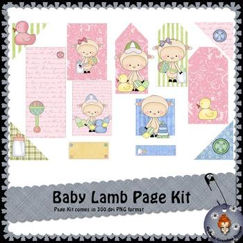 Baby Lamb Page Kit