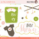 Baby Mine Girl Clipart PNG