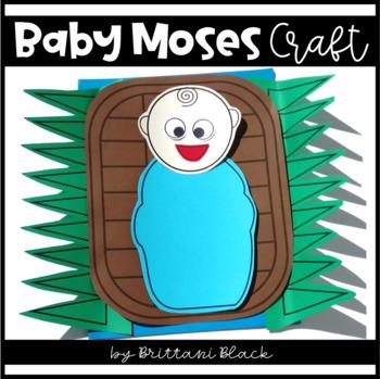 Baby Moses Craft By Brittani Black Teachers Pay Teachers