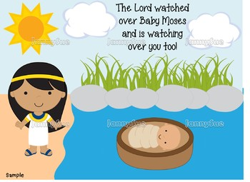 Baby Moses and the Princess Craft- Bible story craft