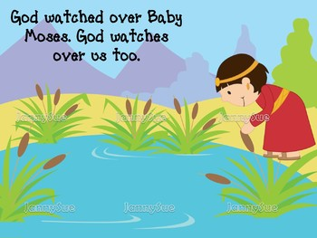Baby Moses in the Bulrushes craft- Bible story craft for kids