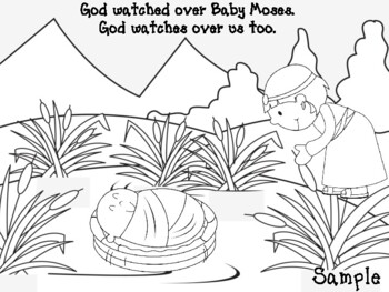 Baby Moses Activities Worksheets Teachers Pay Teachers