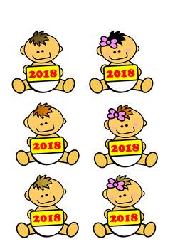 Baby New Year Clip Art