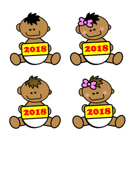 baby new year clip art