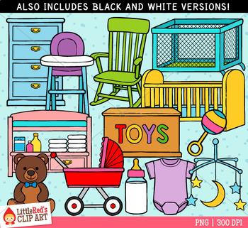 Baby Nursery Clip Art