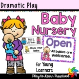 Baby Nursery Dramatic Play