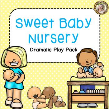 Baby Nursery Dramatic Play Pack