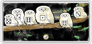 FREE Baby Owl Swoop: A Roll and Cover Math Game