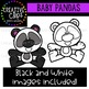 Baby Panda Clipart {Creative Clips Clipart}
