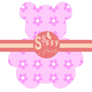 Baby Pink Teddy Bear Cliparts