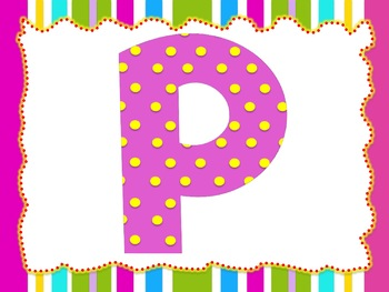 Baby Pink Theme: 100 Alphabet, Numbers and Symbols clip arts (polka dots)