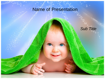 Baby PowerPoint Template