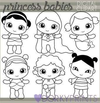 Baby Princess Clip Art