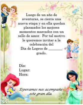 Baby Princess Invitation Complete Editable!!!