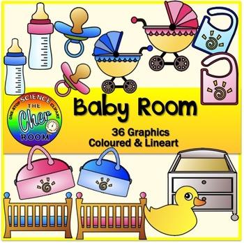 Baby Room/Nursery Clipart (My Home Series 3)