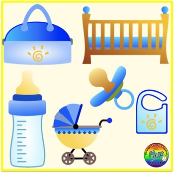 Baby Room/Nursery Clipart (My Home Series 3)