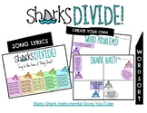 Baby Shark Division Song and Key Word Sort