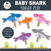 Baby Shark Finger Play including PDF Patterns
