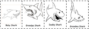 Baby Shark Song  - Order of events