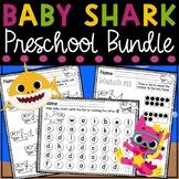 Baby Shark Preschool Letters and Numbers Bundle