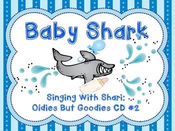 Baby shark song book by shari sloane teachers pay teachers baby shark song book stopboris Choice Image