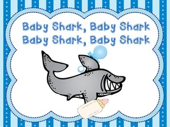 Baby shark song book by shari sloane teachers pay teachers baby shark song book stopboris Images