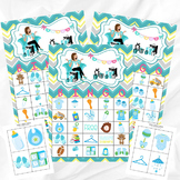 Baby Shower Bingo Printable Party Game - Printable PDF - 30 Bingo