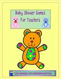 Baby Shower Games for Teachers