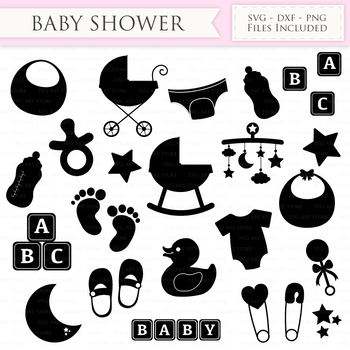 baby shower svg files new baby svg cutting files cricut and