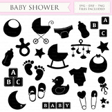 Baby Shower SVG Files New baby svg cutting files Cricut an