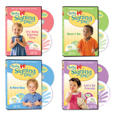 Baby Signing Time DVD/CDs Set 1-4