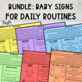 Baby Signs for Daily Routines {BUNDLE}