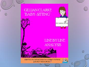 Baby-Sitting by Gillian Clarke: an analysis