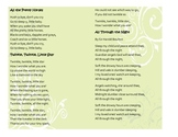 Baby Songs Cheat Sheet Printables – Lyrics for Lullabies