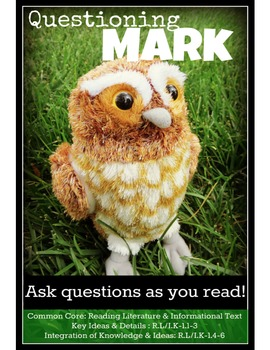 Baby Stuffed Animals Comprehension Reading Strategies Labeled with Common Core
