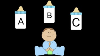 Baby Theme Letters/Sounds/Sight Words/Chunks