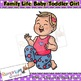 Baby Toddler Clip art, Girl