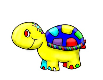 Baby Turtle Clip Art