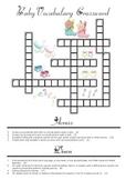 Baby Vocabulary Crossword with Key