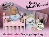 Baby What's Wrong? Animated Step-by-Step Song - Regular