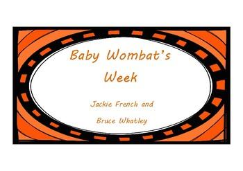 Baby Wombat's Week Activities